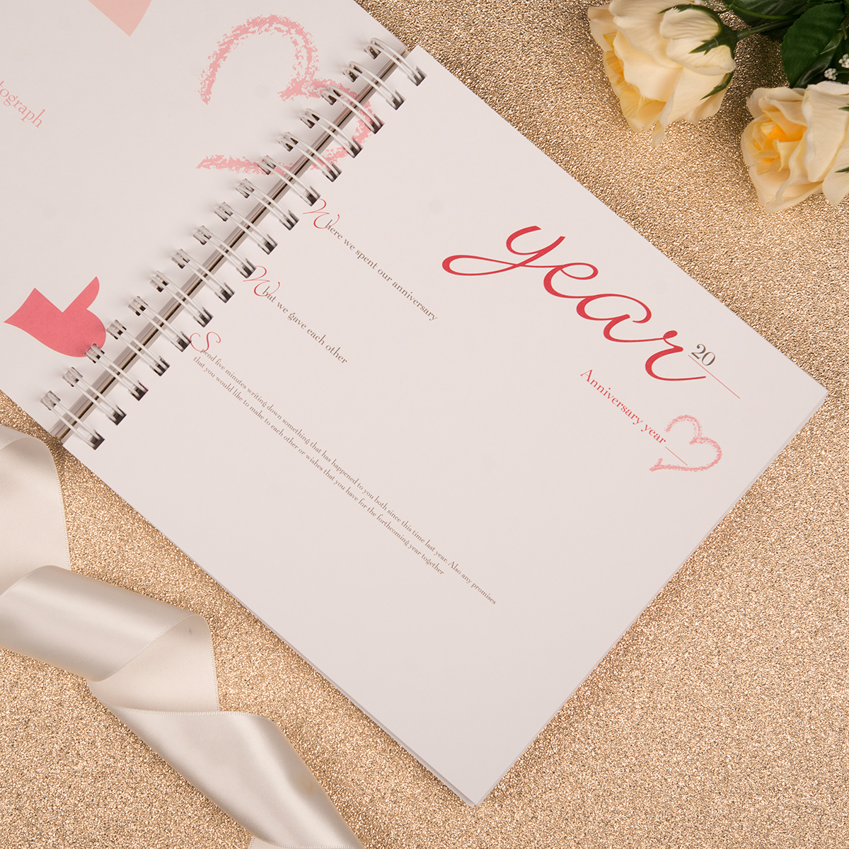 Paper Wedding Anniversary Gift Ideas Uk : Paper Anniversary Book
