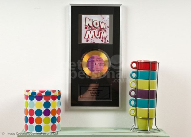 Personalised Now Thats What I Call Mum Framed Cd
