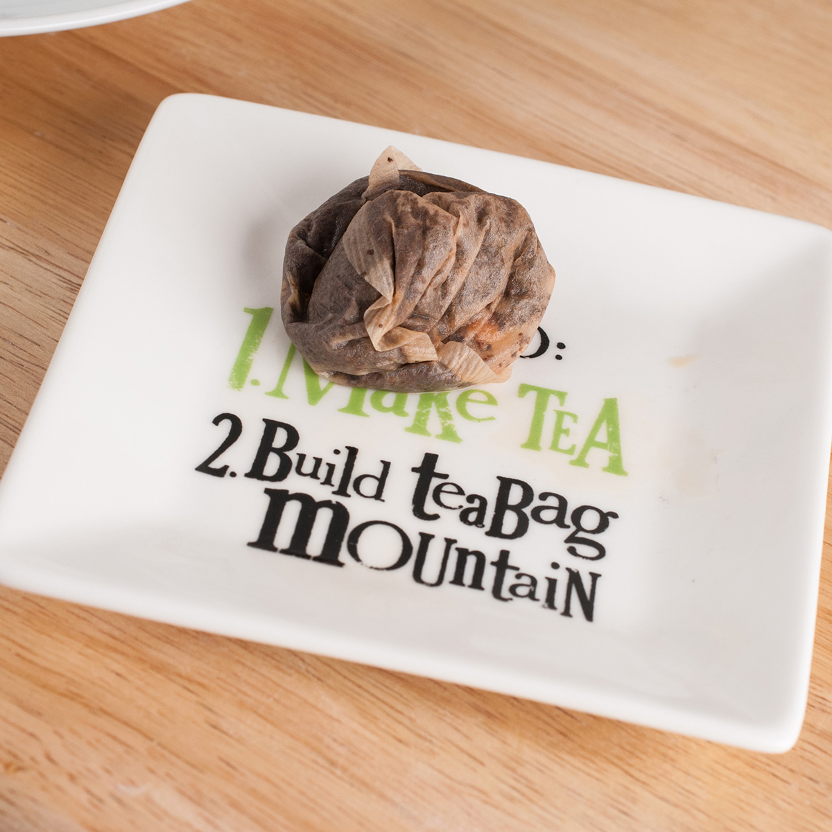 Tea Bag Mountain Tea Bag Tray | Kitchen Gifts By ...