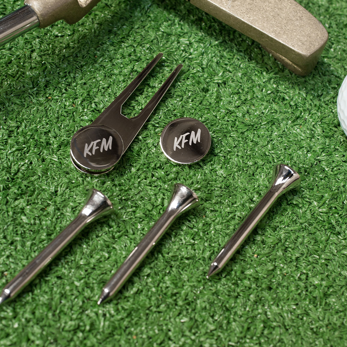 Personalised Golf Gift Set