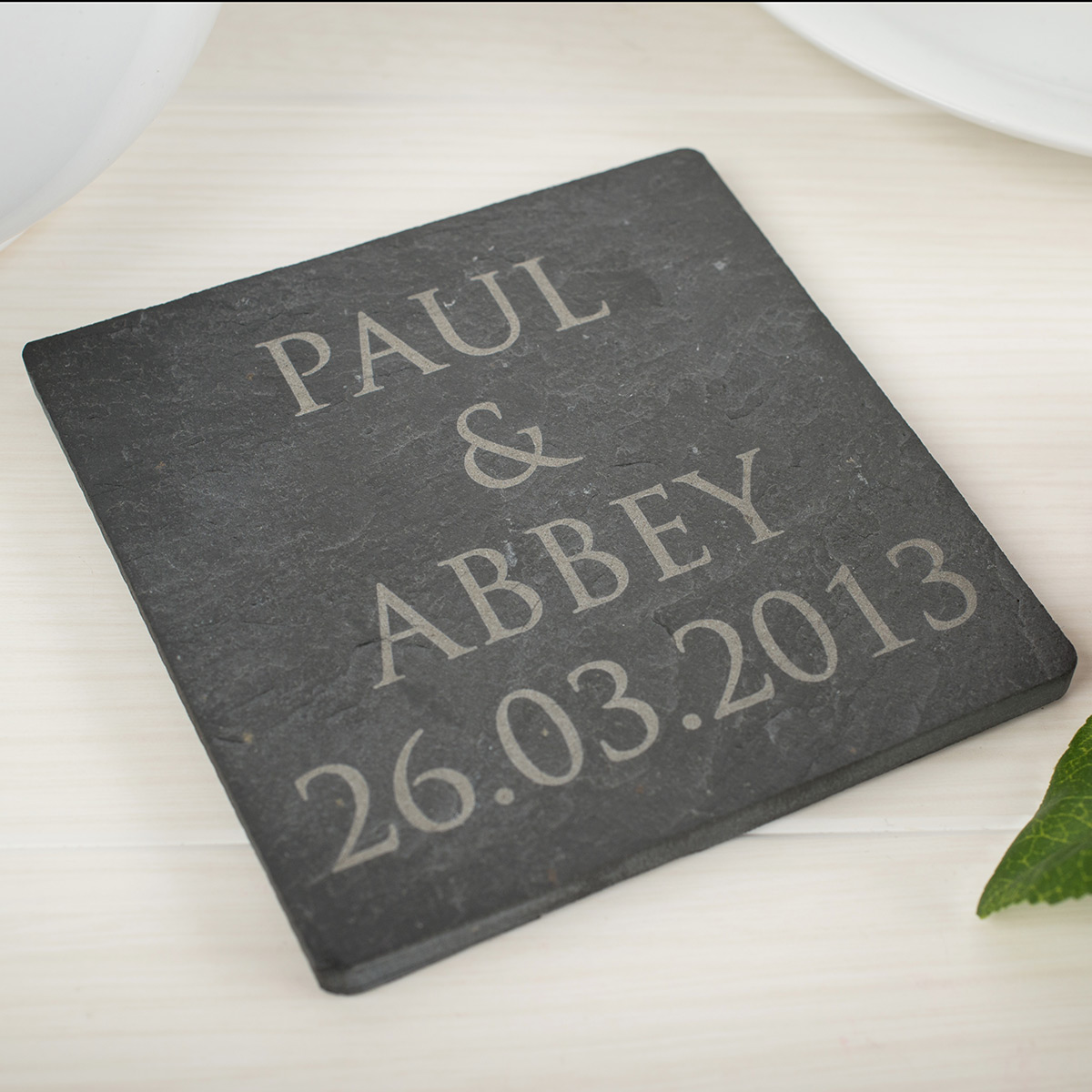 Engraved Slate Tile Engraved Gifts By Gettingpersonal Co Uk