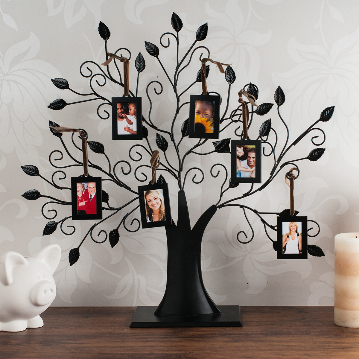 Family Tree 6 Picture Frame Gettingpersonal Co Uk