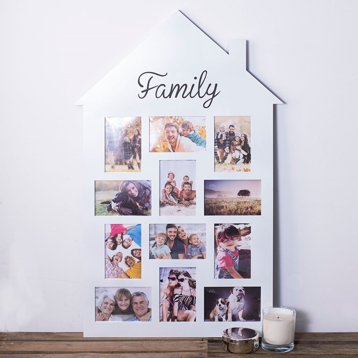 House Family Photo Frame | GettingPersonal.co.uk
