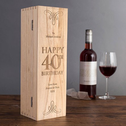 40th Birthday Gifts Gettingpersonal Co Uk
