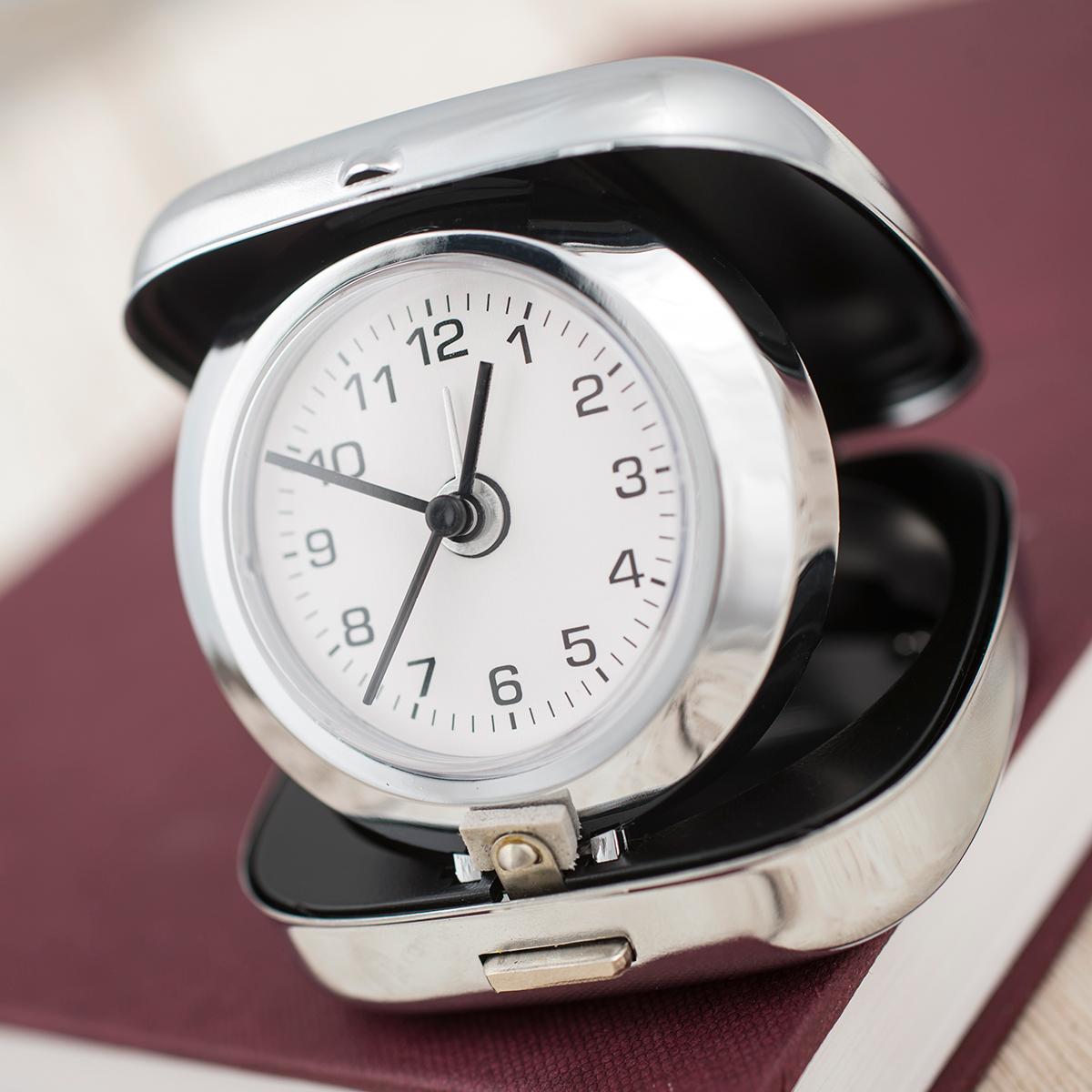 Engraved Travel Alarm Clock Gettingpersonal Co Uk
