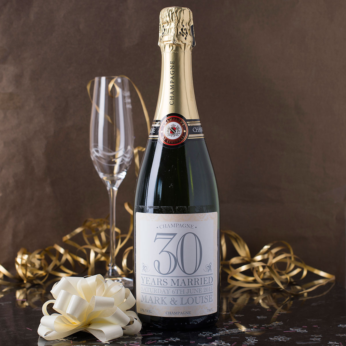 Luxury Personalised Champagne