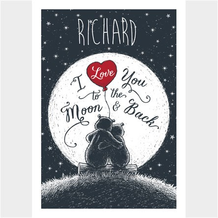 Personalised Valentines Day Cards From 149