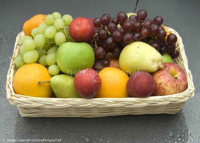 Foodesign Fresh Fruit Basket: Divine Fresh Fruit Basket :: Fruit Baskets From
