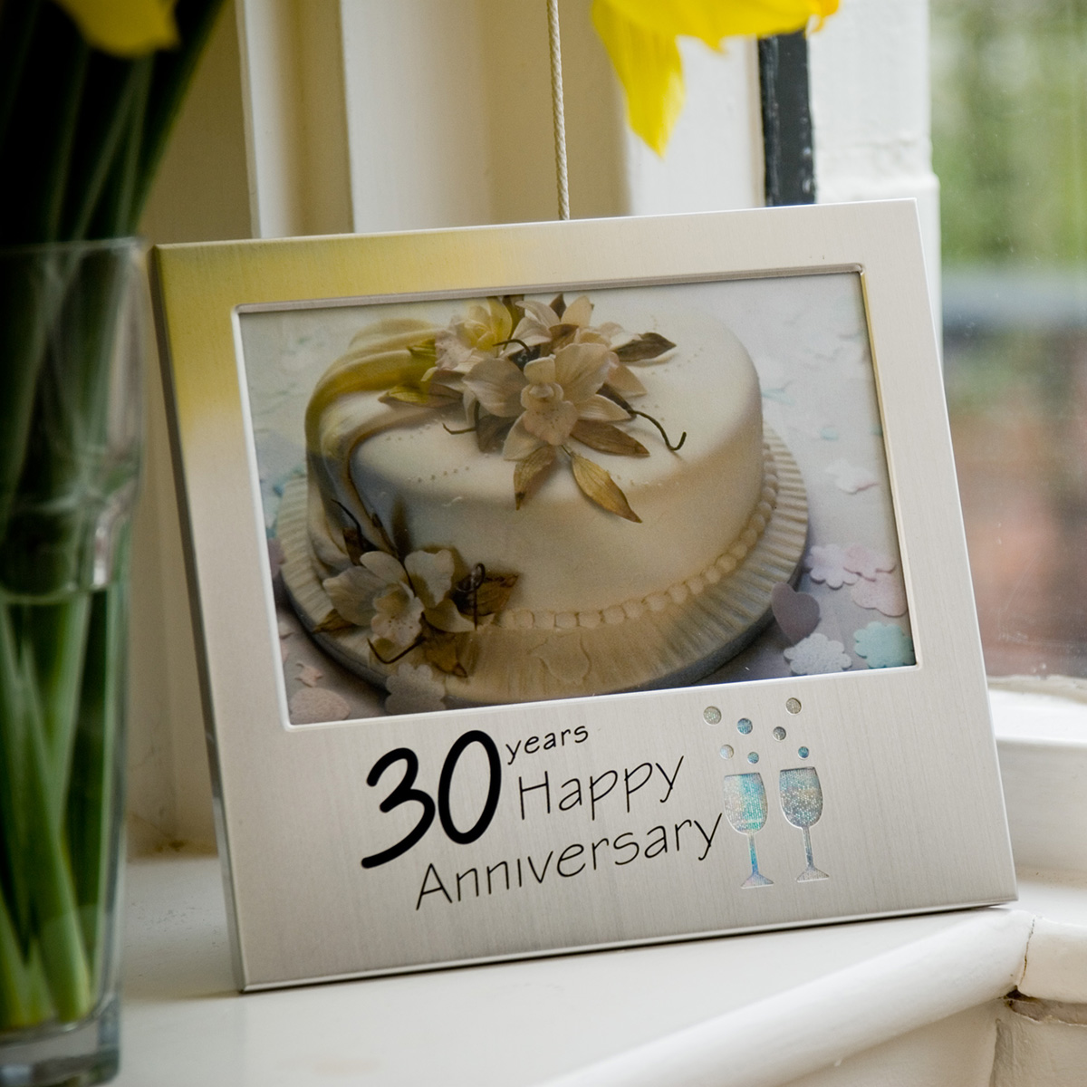 30th Wedding Anniversary Gift Ideas For Friends : 30th Anniversary Frame :: Pearl Anniversary Gifts from GettingPersonal ...