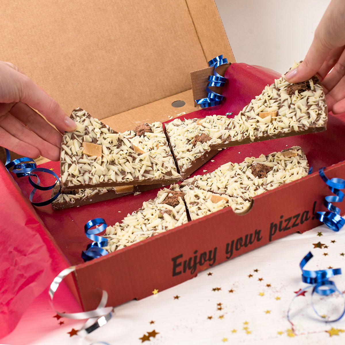 18th Birthday Chocoholics Pizza Unusual Gifts From