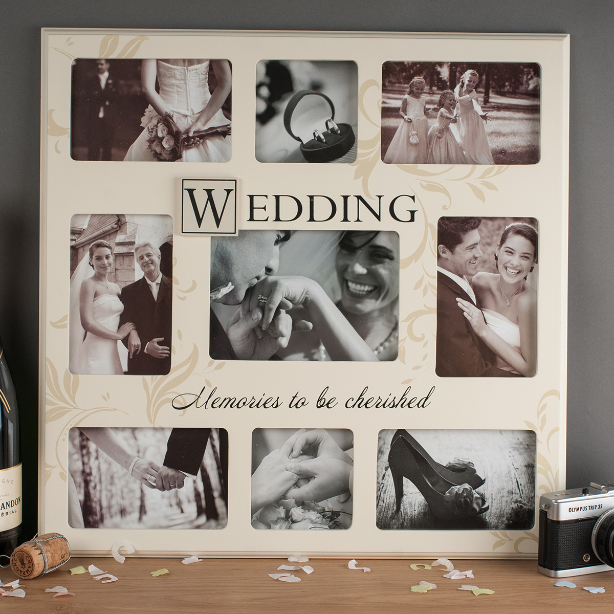 Wedding Memories Collage Frame A
