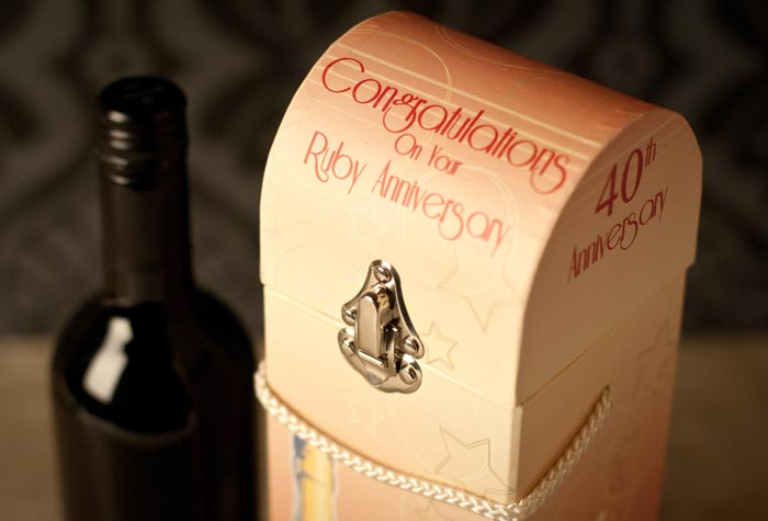 Gift Ideas For 40th Wedding Anniversary For Friends : 40th Wedding Anniversary Gift Box :: 40th Wedding Anniversary Gifts ...