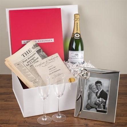 Silver Wedding Anniversary Gift Ideas Uk : Silver Wedding Anniversary Gifts GettingPersonal.co.uk