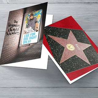 Starstruck Birthday Cards