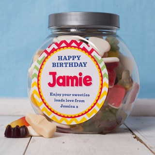 Personalised Mixed Jelly Sweets