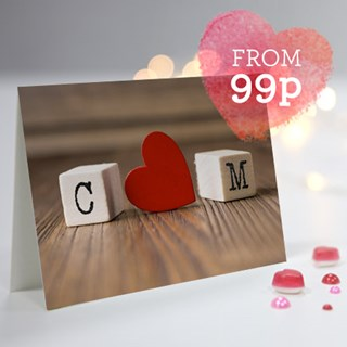Personalised Valentine Cards