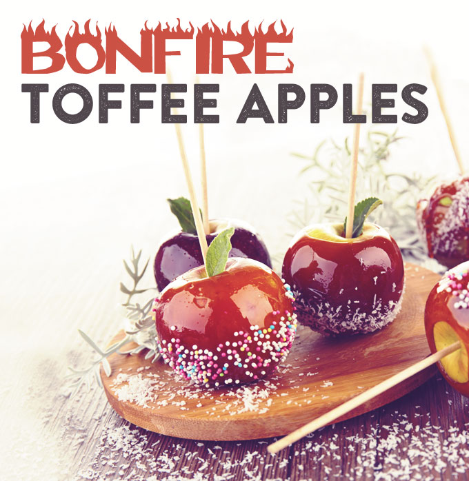 Bake: Bonfire Toffee Apples Recipe