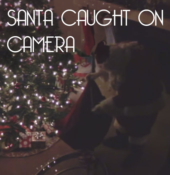 Santa Claus Caught On Video! Real Proof He Exists!