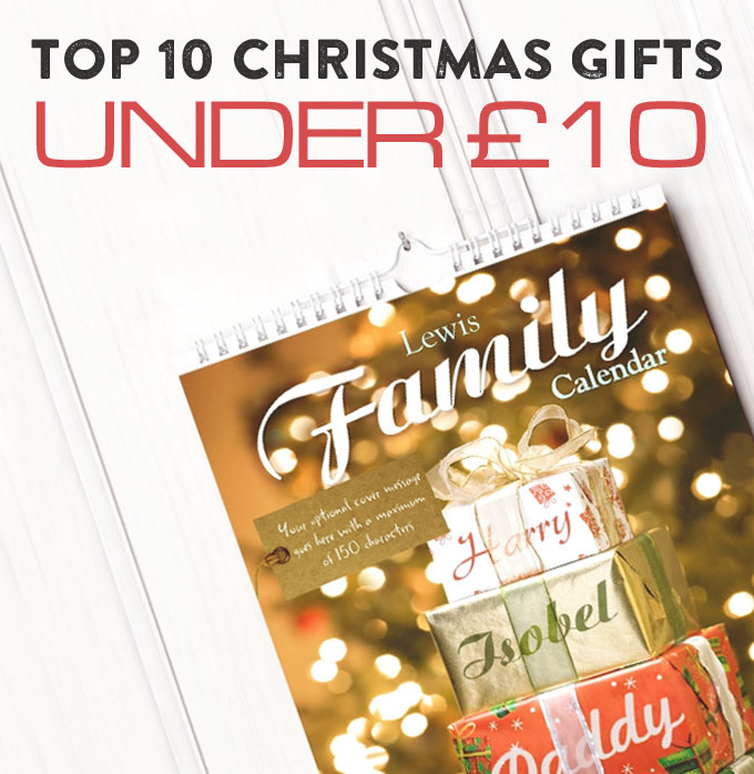 Top 10 Christmas Gifts Under £10