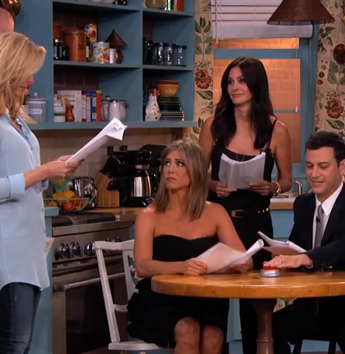 Jimmy Kimmel Reunites Cast of Friends