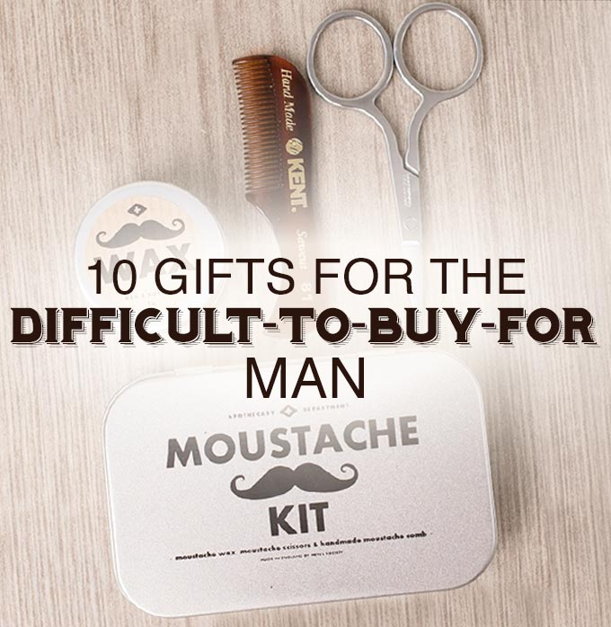 10 Gifts For The Difficult-To-Buy-For Man