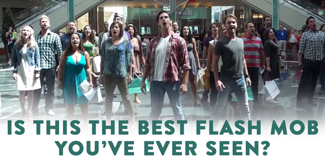 Is This The Most Amazing Flash Mob Ever?