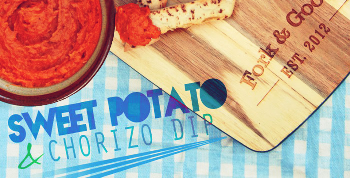 Cook: Roasted Sweet Potato & Chorizo Dip