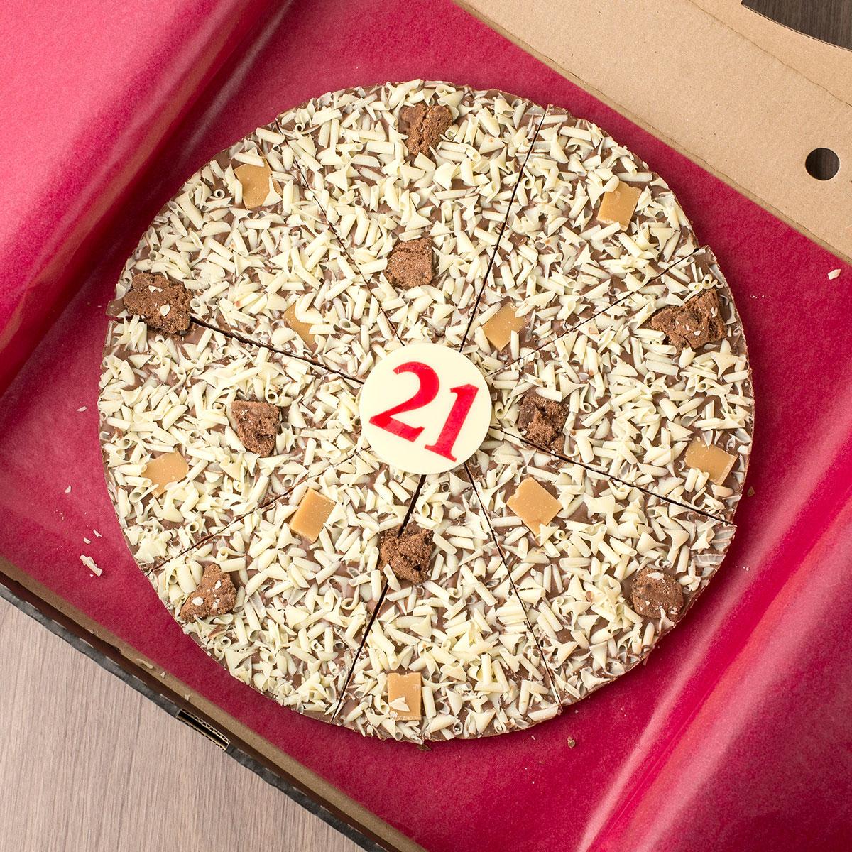 Image of 21st Birthday Chocoholics Pizza