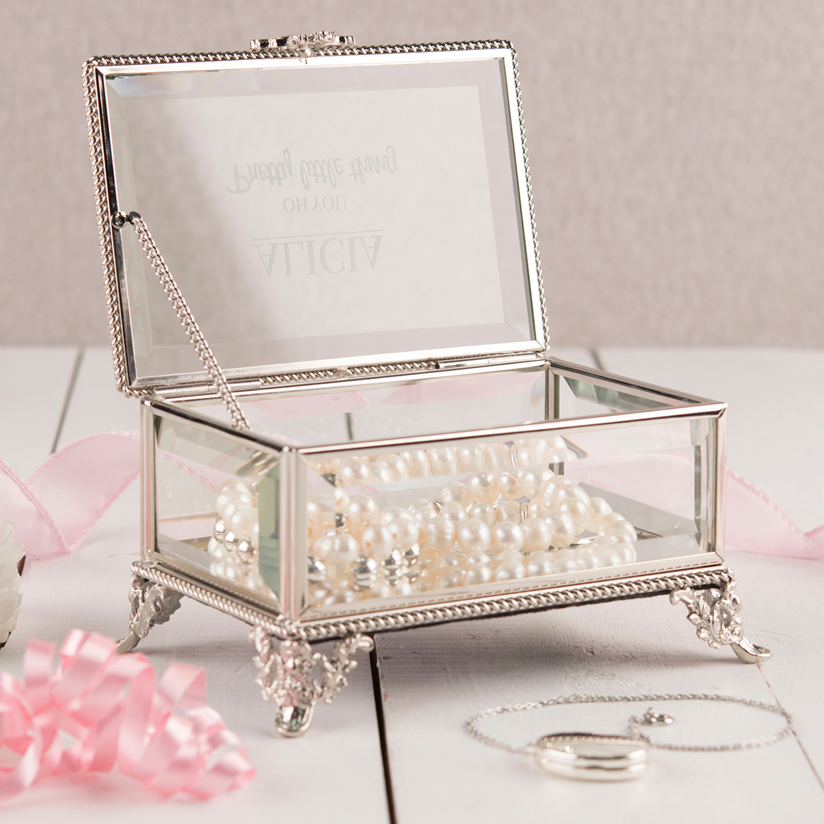 Personalised Hestia Jewellery Box  Oh You Pretty Little Thing
