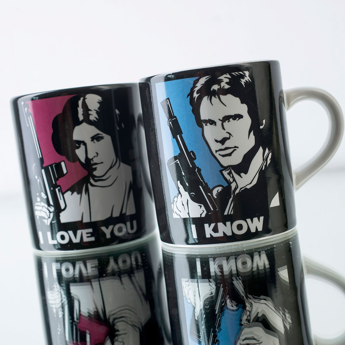 Star Wars® Mini Mug Set of 2 I Love You I Know!