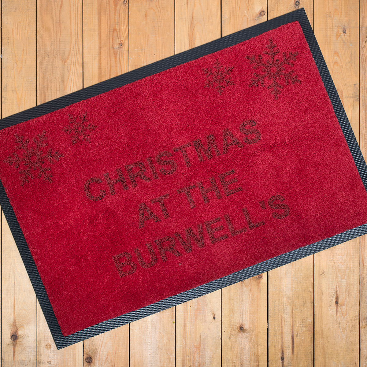 Personalised Indoor Christmas Doormat