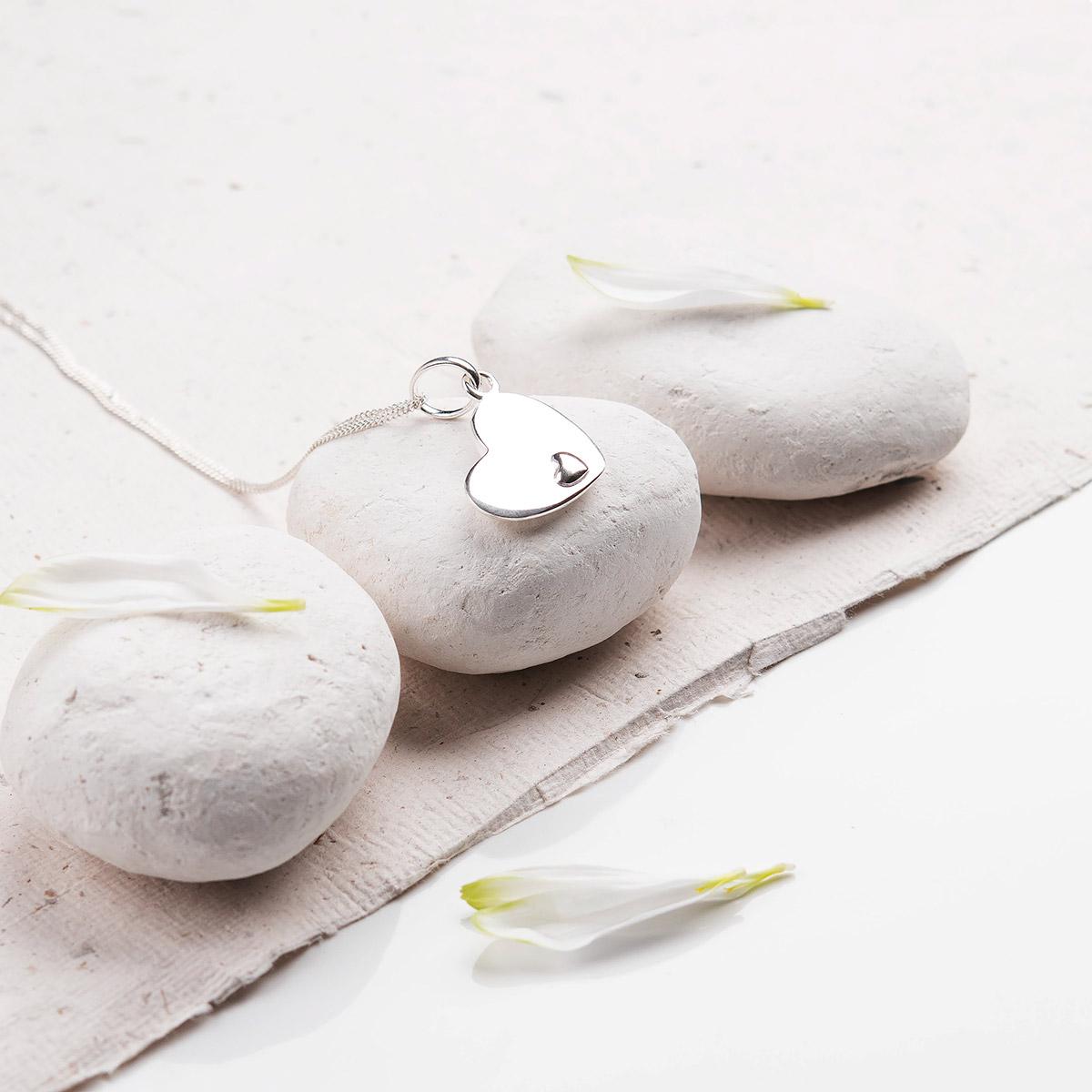 Personalised Premium Heart Necklace