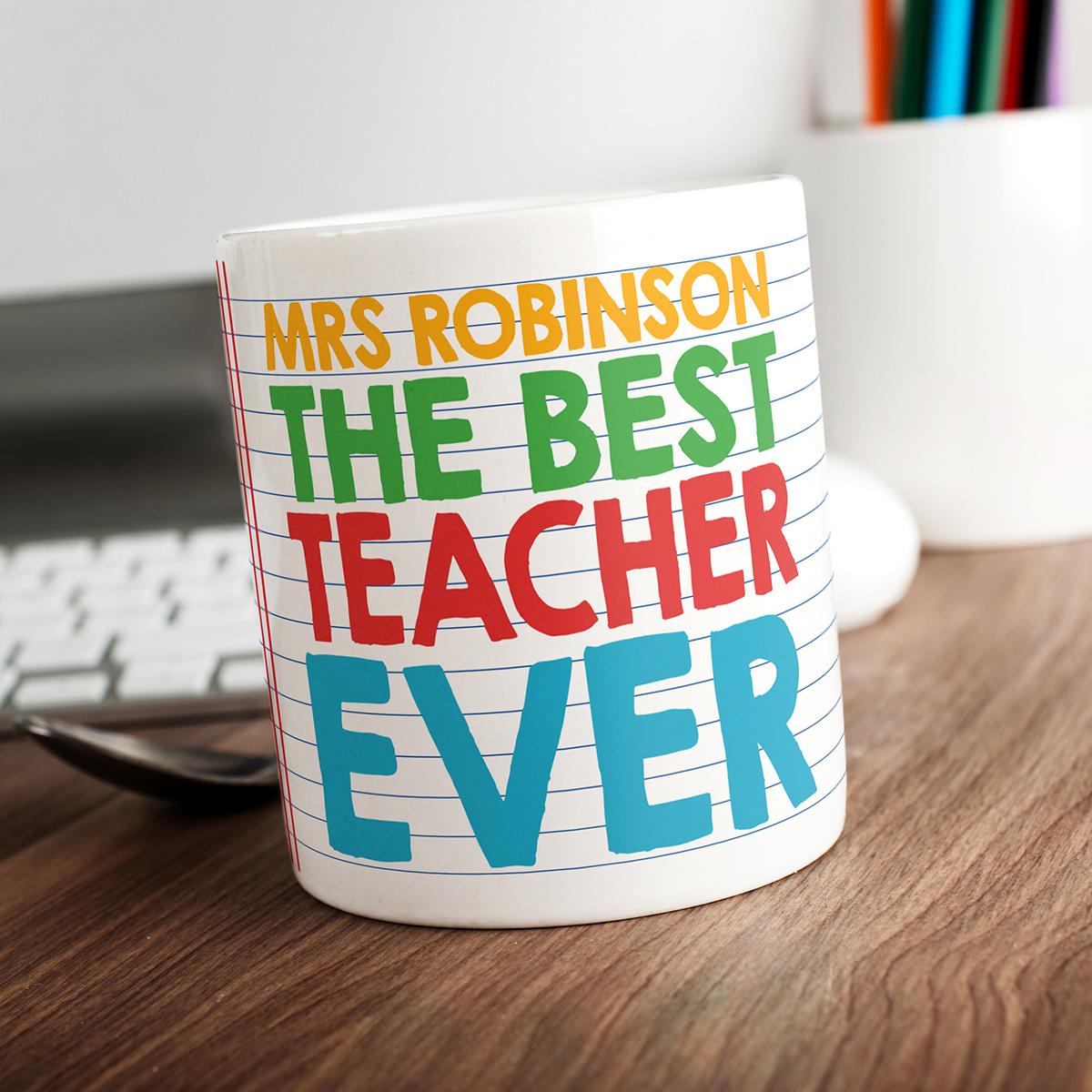 Personalised Mug - Best Teacher Ever