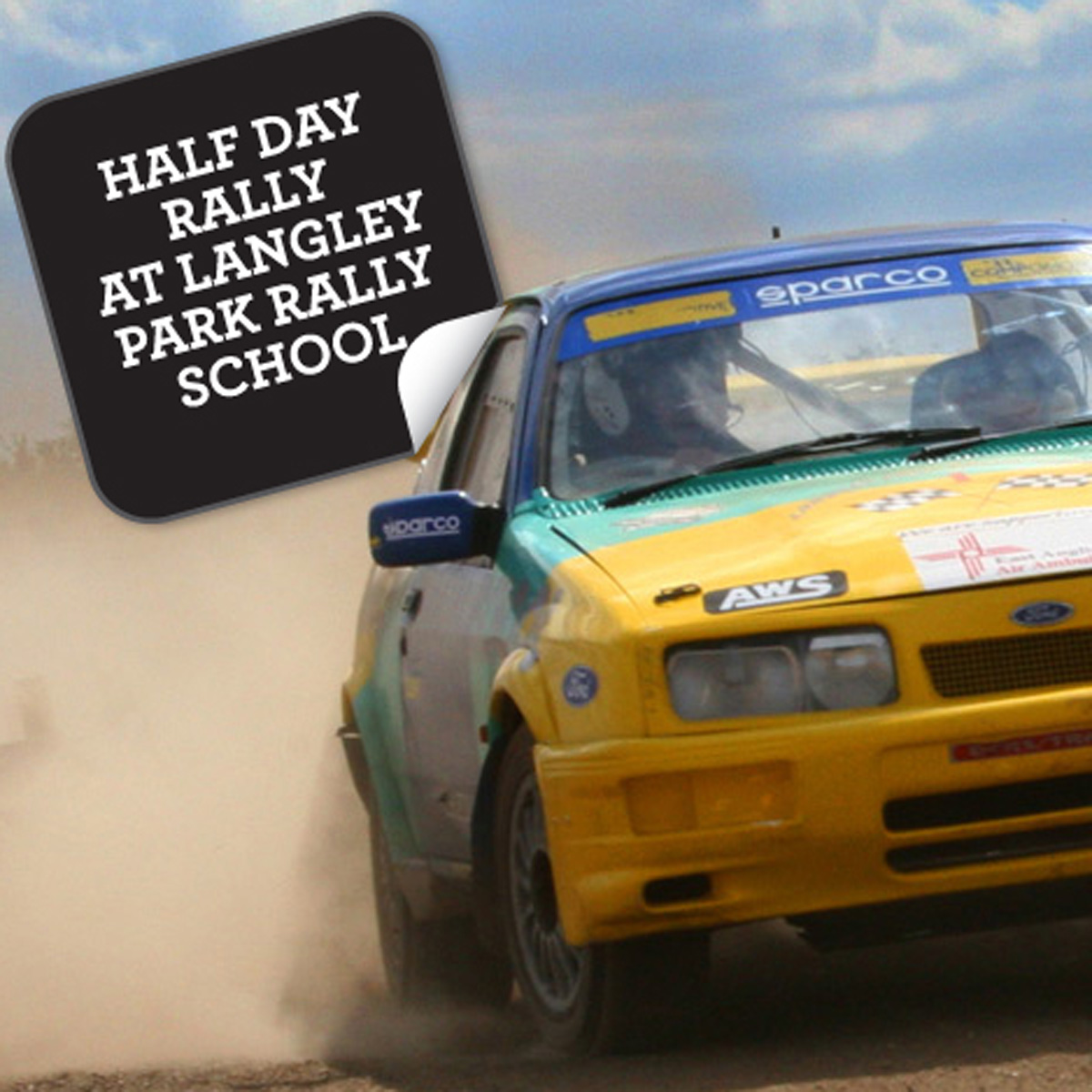 Half Day Rally at Langley Park Rally School