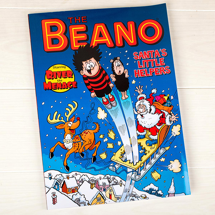 Personalised Beano Christmas Book
