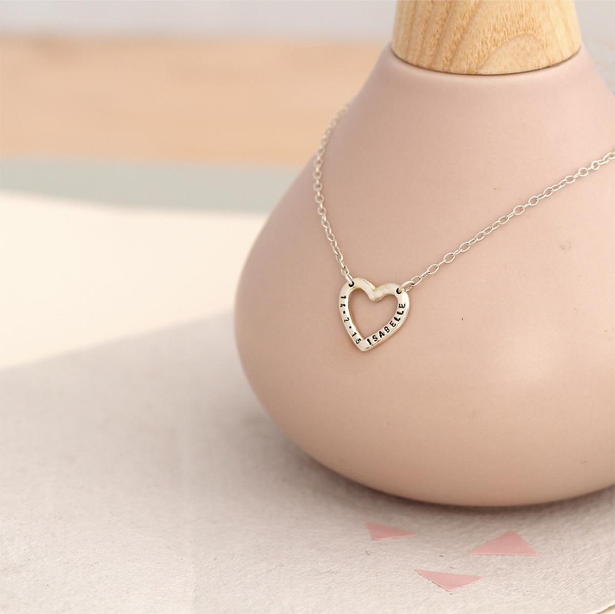 Personalised Posh Totty Designs Sweetheart Necklace