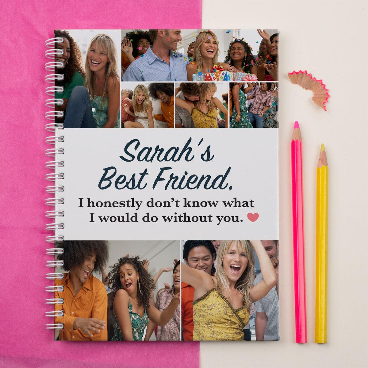 Photo Upload Notebook  Best Friends