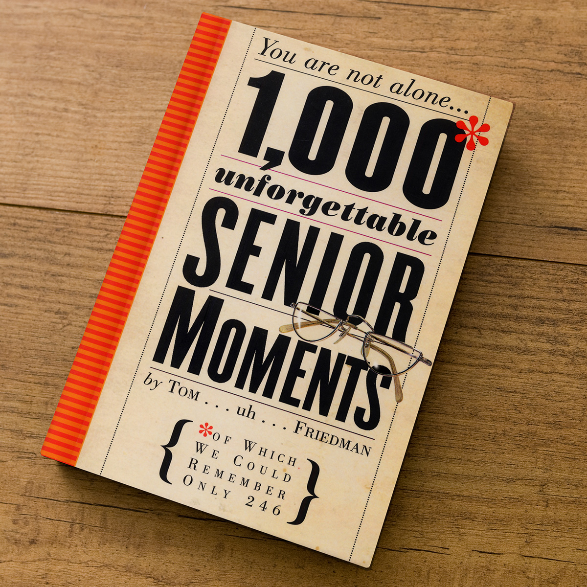Image of 1000 Unforgettable Senior Moments - Gift Book