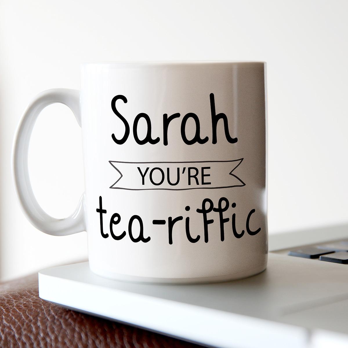 Personalised Mug - Tea-riffic