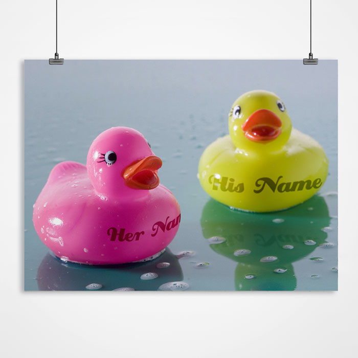 Personalised Print - Ducks