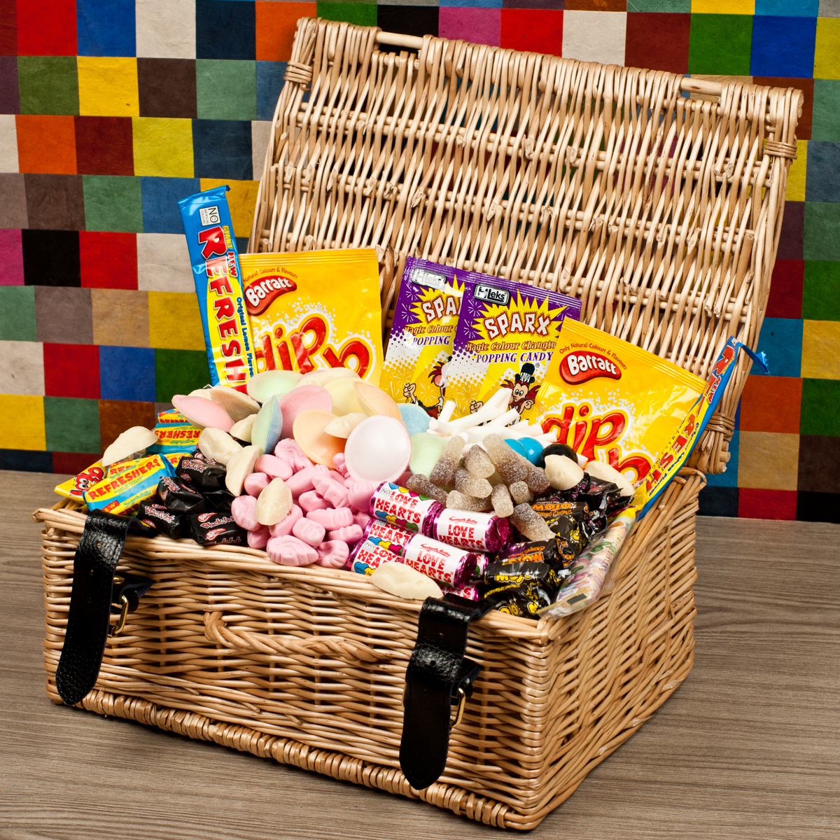 Image of 21st Birthday Retro Sweet Hamper