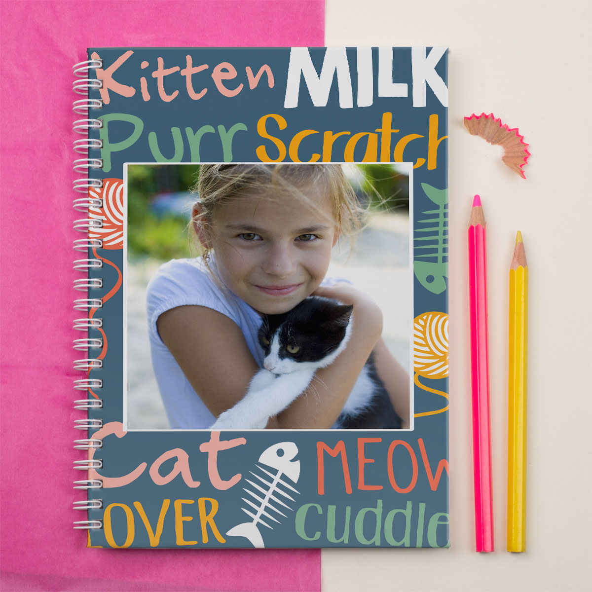 Photo Upload Notebook  Cat Lover
