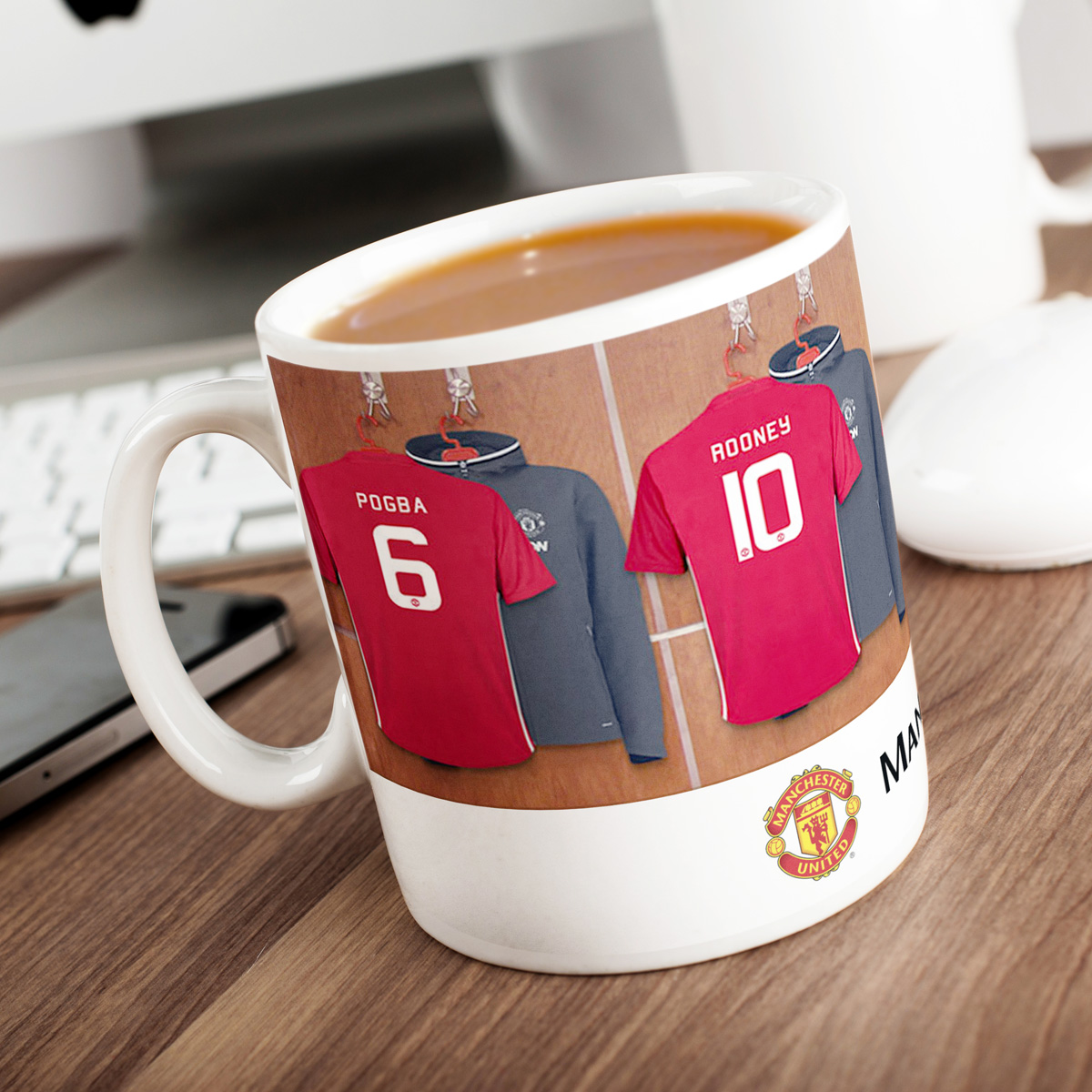 Image of Personalised Manchester United Mug