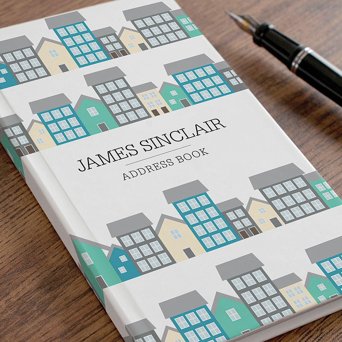 Personalised Address Book  Town Houses