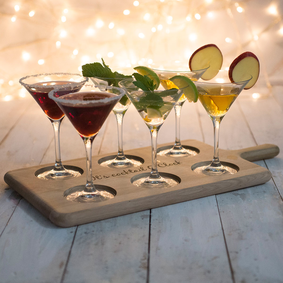 Personalised Paddle Board & LSA Cocktail Glasses