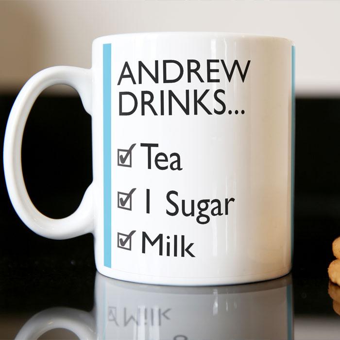 Photo Upload Mug - One Sugar Or Two