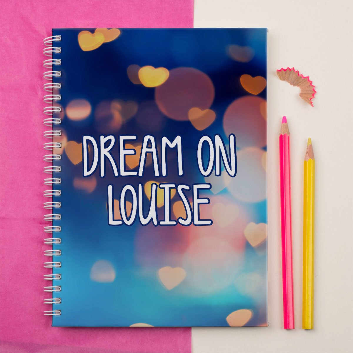 Personalised Notebook  Dream On