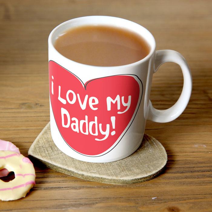 Personalised Mug  I Love My Daddy