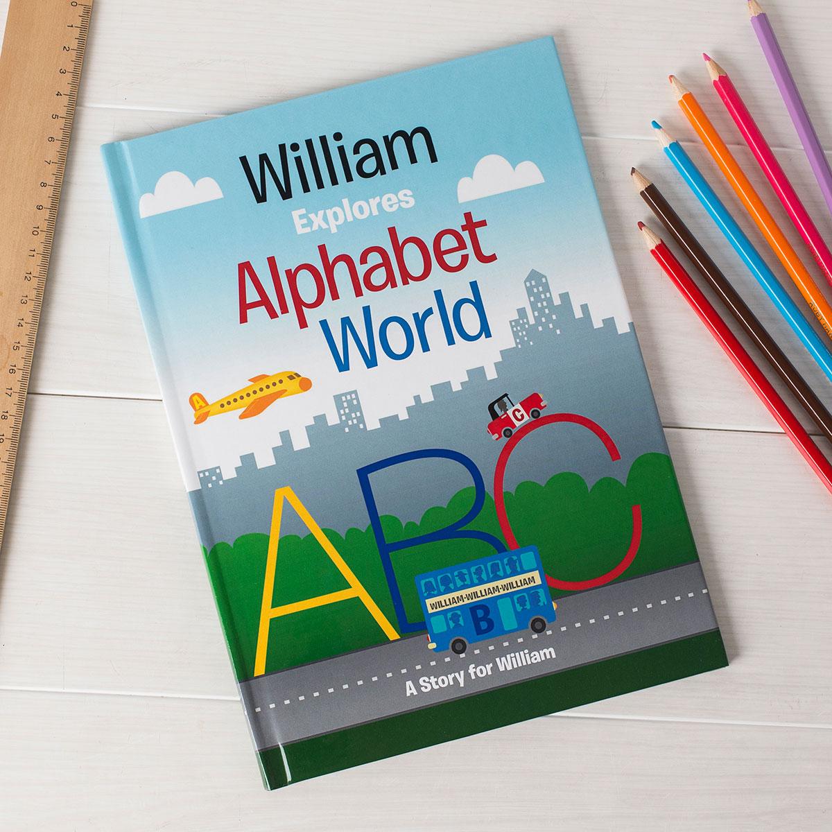 Personalised Book  Alphabet World
