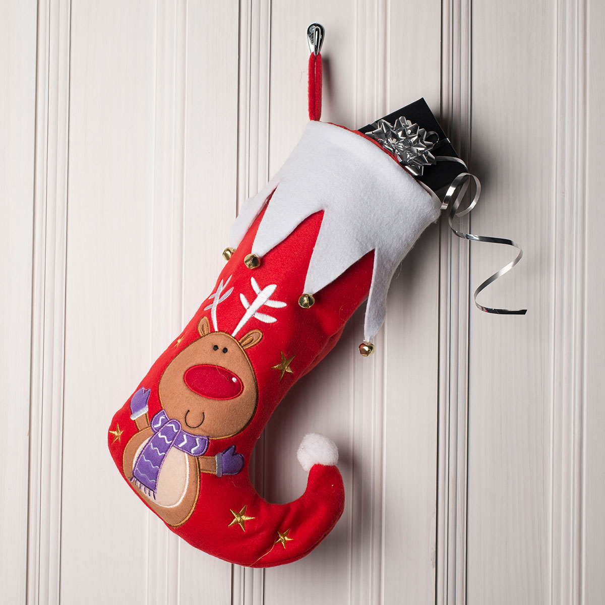 Christmas Character Stocking - Reindeer